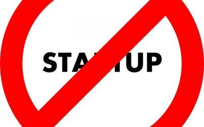 Ne Créez Pas de Startup !