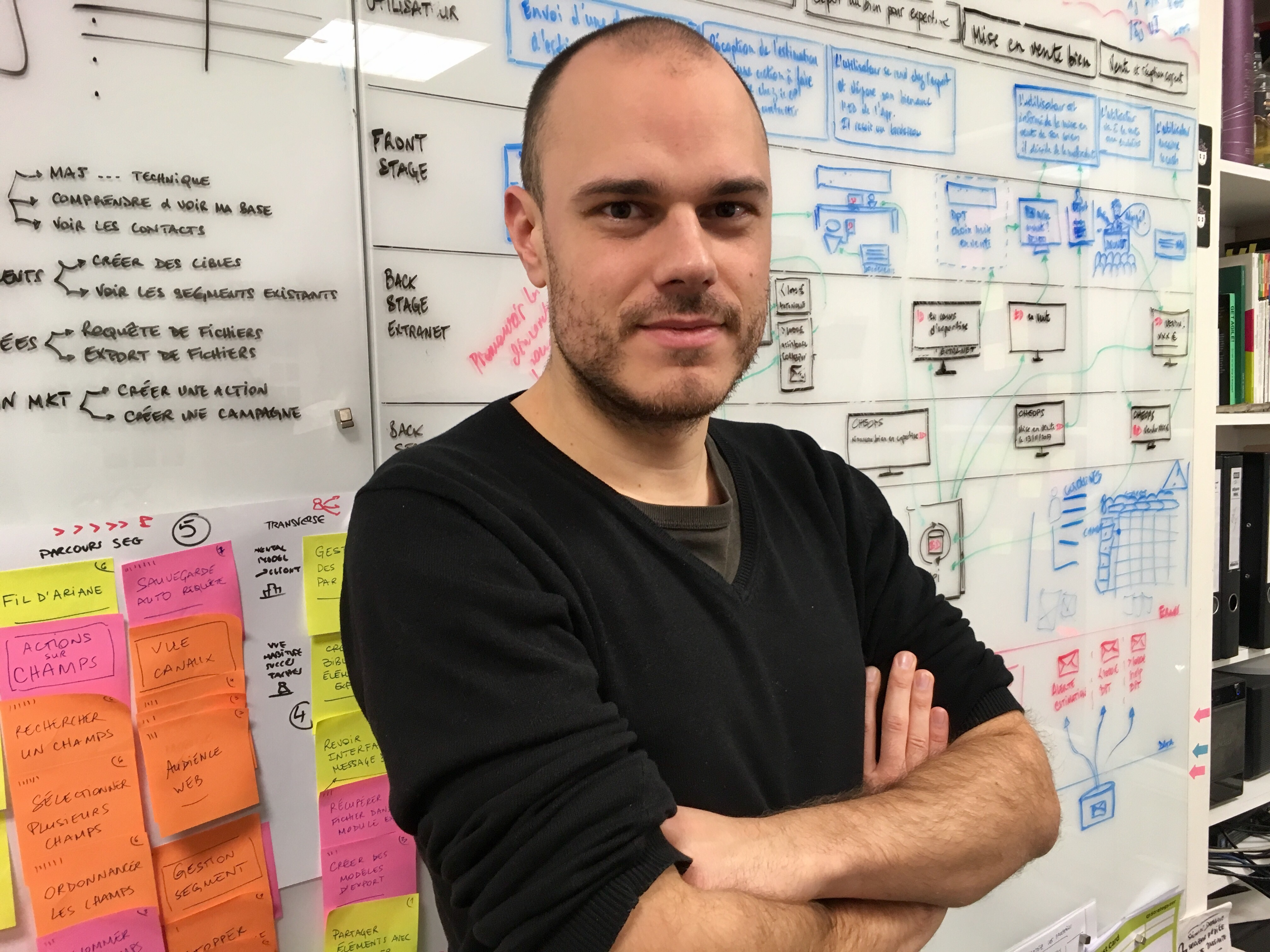 Hi! I'm Rémi Rivas. I promote design thinking into organizations. | Welcome  on my website ! I help you define and improve your value propositions  thanks to user experience design, design thinking