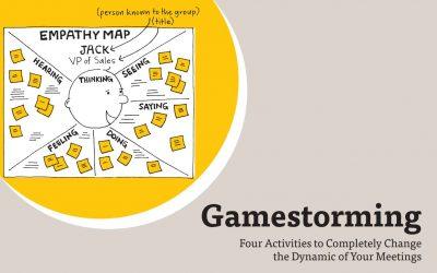 Facilitez vos prises de décisions et vos réunions avec 4 exercices de Gamestorming.