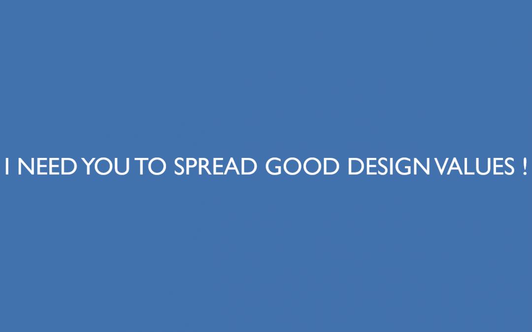 Vous aussi, aidez les pratiques et outils du Design à se répandre dans le monde de la gestion de projets en entreprise !