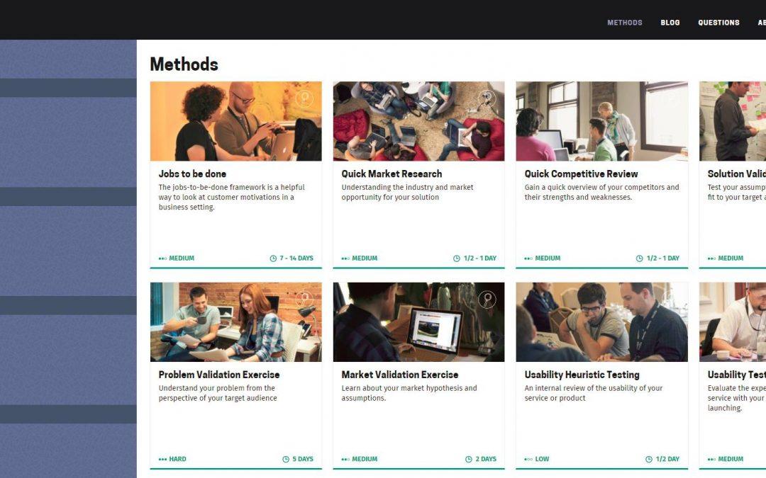 Retrouvez TOUS les outils et méthodes Design Thinking de Mozilla Foundation !