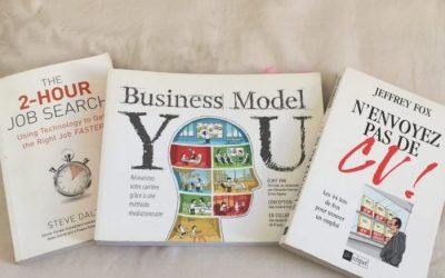 Trois livres pour vous aider dans votre recherche d'emploi