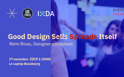 Ma Prochaine Conférence : Good Design Spreads Itself !