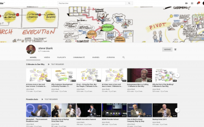 Steve Blank, Ce Youtubeur ! 95 Vidéos pour comprendre les Startups !